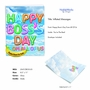 Stylish Boss's Day Jumbo Paper Card From NobleWorksCards.com - Inflated Messages - Boss's Day image 2