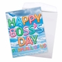 Stylish Boss's Day Jumbo Paper Card From NobleWorksCards.com - Inflated Messages - Boss's Day image 3