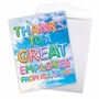 Stylish Administrative Professionals Day Jumbo Paper Card From NobleWorksCards.com - Inflated Messages - Employee image 2