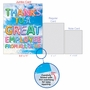Stylish Administrative Professionals Day Jumbo Paper Card From NobleWorksCards.com - Inflated Messages - Employee image 4