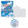 Creative Engagement Jumbo Printed Greeting Card From NobleWorksCards.com - Inflated Messages - Engagement image 5