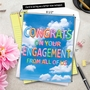 Creative Engagement Jumbo Printed Greeting Card From NobleWorksCards.com - Inflated Messages - Engagement image 6