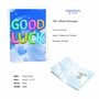 Stylish Good Luck Paper Card From NobleWorksCards.com - Inflated Messages - Good Luck image 2