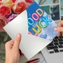 Stylish Good Luck Paper Card From NobleWorksCards.com - Inflated Messages - Good Luck image 3