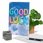 Stylish Good Luck Paper Card From NobleWorksCards.com - Inflated Messages - Good Luck image 6