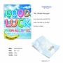 Creative Good Luck Jumbo Printed Greeting Card From NobleWorksCards.com - Inflated Messages - Good Luck image 2