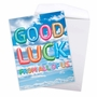 Creative Good Luck Jumbo Printed Greeting Card From NobleWorksCards.com - Inflated Messages - Good Luck image 3