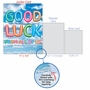Creative Good Luck Jumbo Printed Greeting Card From NobleWorksCards.com - Inflated Messages - Good Luck image 5