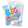 Creative Retirement Jumbo Printed Greeting Card From NobleWorksCards.com - Inflated Messages image 3