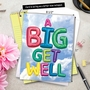 Creative Get Well Jumbo Greeting Card From NobleWorksCards.com - Inflated Messages image 6