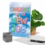 Creative New Job Greeting Card From NobleWorksCards.com - Inflated Messages - New Job image 6