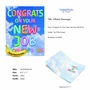 Stylish New Job Jumbo Paper Greeting Card From NobleWorksCards.com - Inflated Messages - New Job image 2