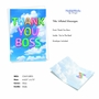 Stylish Boss Thank You Paper Greeting Card From NobleWorksCards.com - Inflated Messages - Thank You Boss image 2