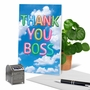 Stylish Boss Thank You Paper Greeting Card From NobleWorksCards.com - Inflated Messages - Thank You Boss image 6