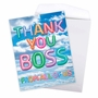 Creative Boss Thank You Jumbo Greeting Card From NobleWorksCards.com - Inflated Messages - Thank You Boss image 3