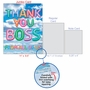 Creative Boss Thank You Jumbo Greeting Card From NobleWorksCards.com - Inflated Messages - Thank You Boss image 5