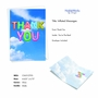 Stylish Thank You Paper Greeting Card From NobleWorksCards.com - Inflated Messages - Thank You image 2