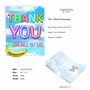 Creative Thank You Jumbo Greeting Card From NobleWorksCards.com - Inflated Messages - Thank You image 2