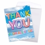 Creative Thank You Jumbo Greeting Card From NobleWorksCards.com - Inflated Messages - Thank You image 3