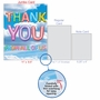 Creative Thank You Jumbo Greeting Card From NobleWorksCards.com - Inflated Messages - Thank You image 5