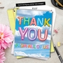 Creative Thank You Jumbo Greeting Card From NobleWorksCards.com - Inflated Messages - Thank You image 6