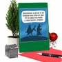 Funny Merry Christmas Paper Greeting Card By D. T. Walsh From NobleWorksCards.com - Inn Reservation image 5