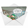 Hilarious Christmas Printed Card from NobleWorksCards.com - Jail Elves image 2