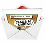 Hilarious Christmas Greeting Card by Tom Cheney from NobleWorksCards.com - Jesus H Christ image 2