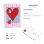 Creative Valentine's Day Greeting Card From NobleWorksCards.com - Jigsaw Hearts image 2