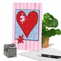 Creative Valentine's Day Greeting Card From NobleWorksCards.com - Jigsaw Hearts image 6