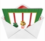 Funny Christmas Printed Card from NobleWorksCards.com - Jingle Bell Rock image 2