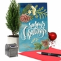 Creative Merry Christmas Printed Greeting Card From NobleWorksCards.com - Joyful Holidays - Season's Greetings image 6