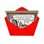 Hysterical Christmas Paper Card by Dan Piraro from NobleWorksCards.com - Keep the Bow image 2