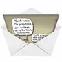 Humorous New Year Greeting Card by Glenn McCoy from NobleWorksCards.com - Keeping Resolutions image 2