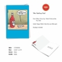 Hilarious Father's Day Printed Card By Nate Fakes From NobleWorksCards.com - Ketchup Dad image 2