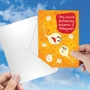 Humorous Friendship Paper Card From NobleWorksCards.com - Killing Me image 3