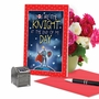 Funny Valentine's Day Paper Greeting Card From NobleWorksCards.com - Knight and Day image 5