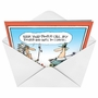 Hilarious Thanksgiving Paper Greeting Card by Glenn McCoy from NobleWorksCards.com - Let's Do Lunch image 2