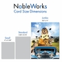 Stylish Graduation Thank You Jumbo Card From NobleWorksCards.com - Lion Mascots - 2019 image 4