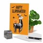 Hysterical Halloween Greeting Card From NobleWorksCards.com - Llamaween image 5