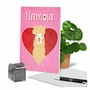Hysterical Valentine's Day Greeting Card From NobleWorksCards.com - Llamour Llama image 6
