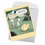 Funny Birthday Jumbo Paper Card By Dave Coverly From NobleWorksCards.com - Look Away image 2