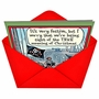 Funny Christmas Paper Card by Dan Piraro from NobleWorksCards.com - Losing Sight image 2