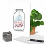 Stylish Valentine's Day Paper Card From NobleWorksCards.com - Love Jar image 6