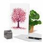 Creative Valentine's Day Printed Card From NobleWorksCards.com - Love Trees image 6