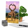 Creative Anniversary Printed Greeting Card From NobleWorksCards.com - Loving Animals image 6