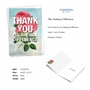 Stylish Thank You Paper Greeting Card From NobleWorksCards.com - Making A Difference image 2