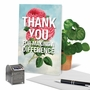 Stylish Thank You Paper Greeting Card From NobleWorksCards.com - Making A Difference image 6
