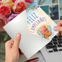 Creative Birthday Paper Greeting Card From NobleWorksCards.com - Maravilloso Día image 2