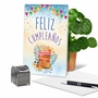 Creative Birthday Paper Greeting Card From NobleWorksCards.com - Maravilloso Día image 5